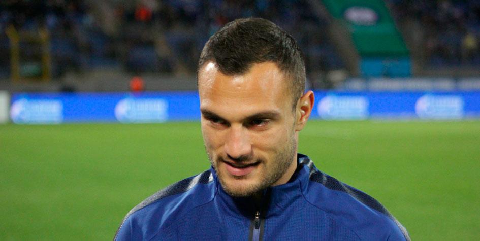 Футболиста «Зенита» наказали за неприличный жест в адрес болельщиков