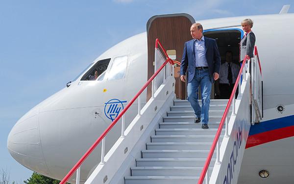 Президент России Владимир Путин, июнь 2014 года