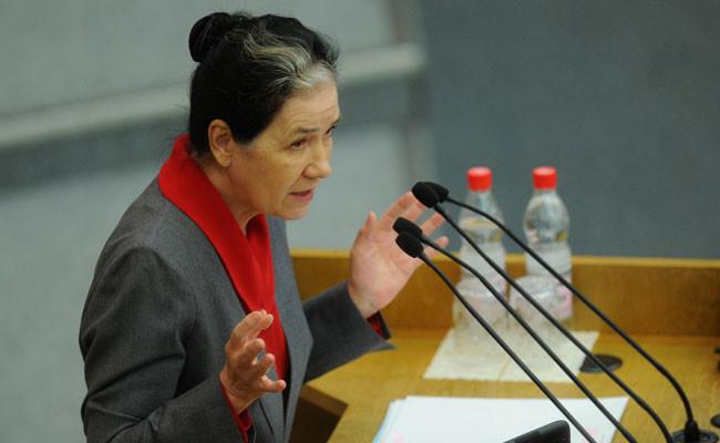 Галина Хованская на пленарном заседании Госдумы РФ