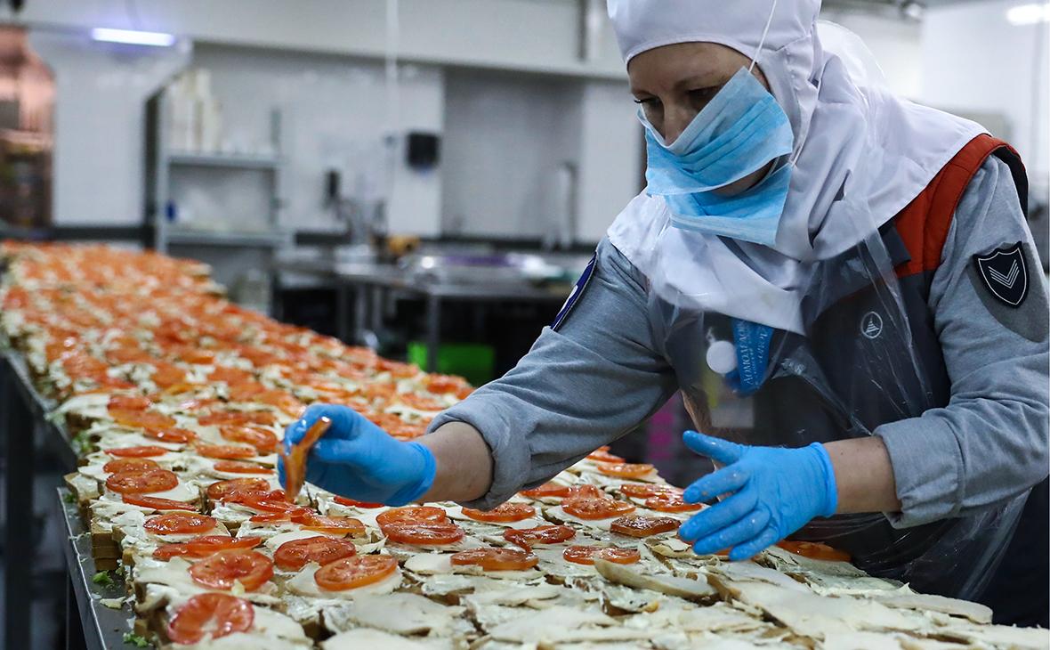 Работа фабрики бортового питания