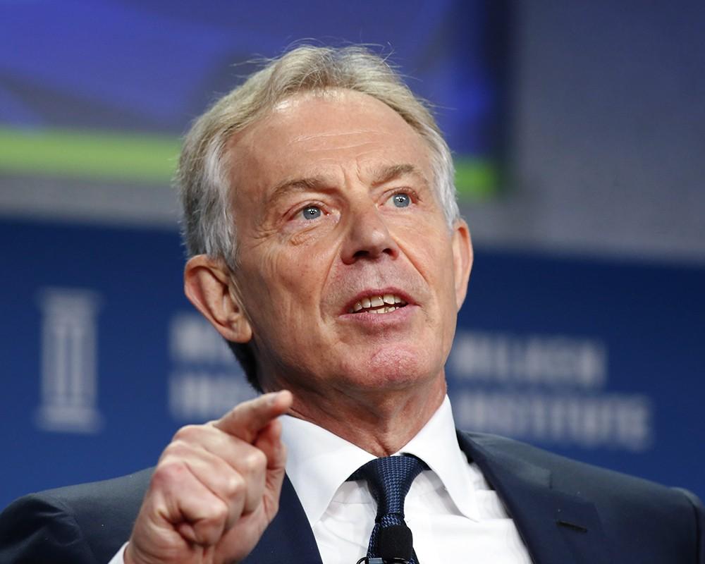 Экс премьер-министр Великобритании Тони Блэр.