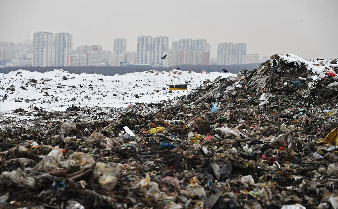 Полигон бытовых отходов «Кучино». Декабрь 2017 года