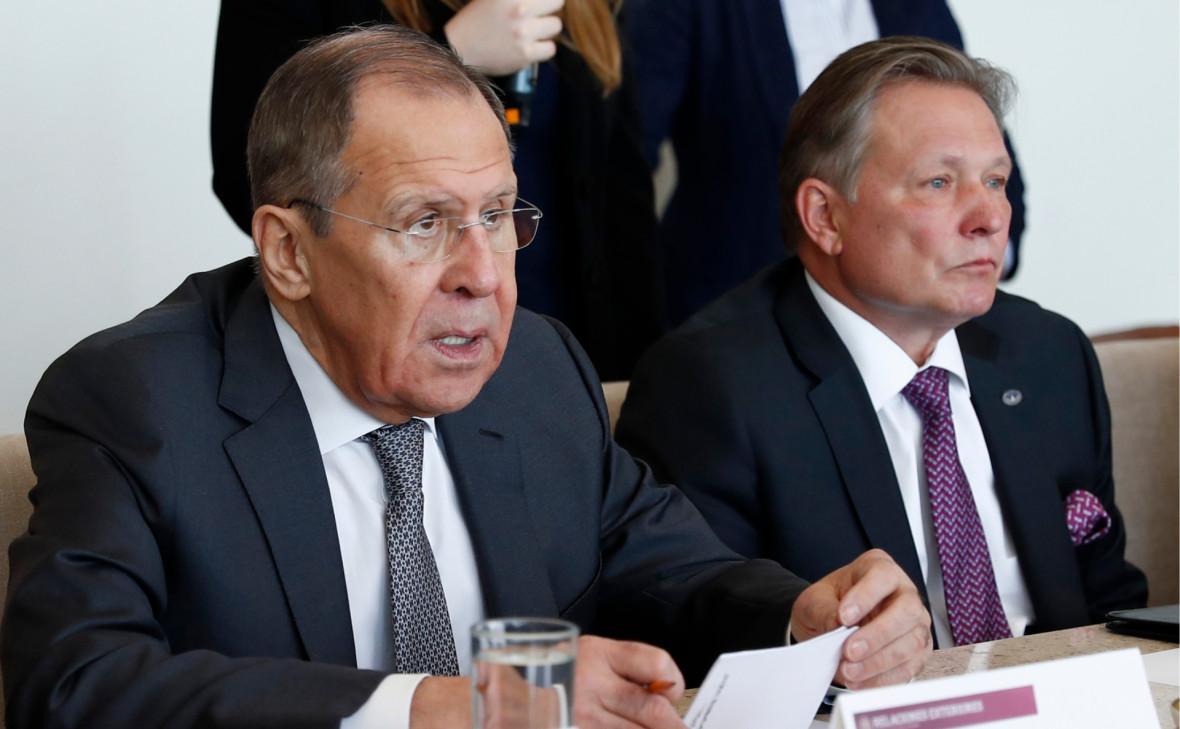 Лавров обвинил США в «науськивании» партнеров против России