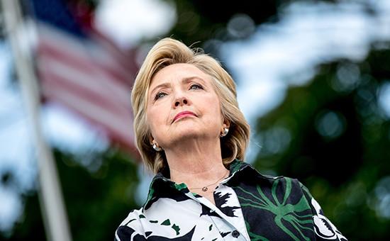 Кандидат напост президента США отдемократов Хиллари Клинтон