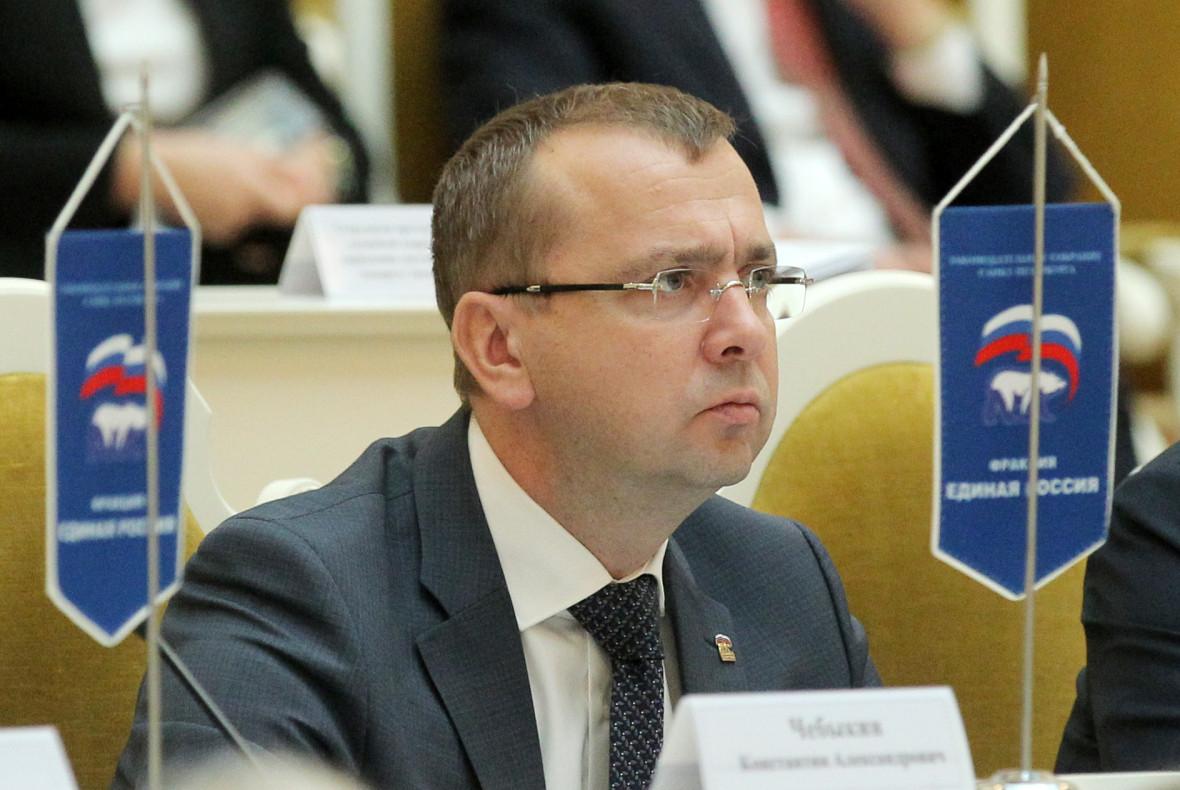 Депутат петербургского парламента Павел Зеленков