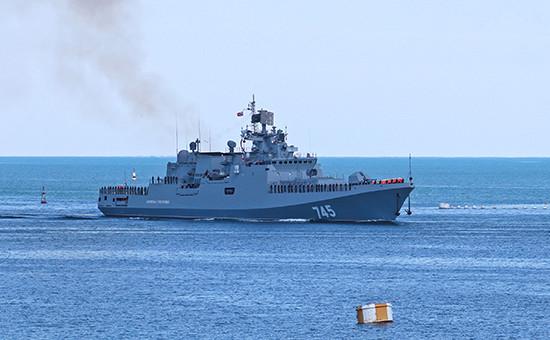 Фрегат «Адмирал Григорович». Июнь 2016 года