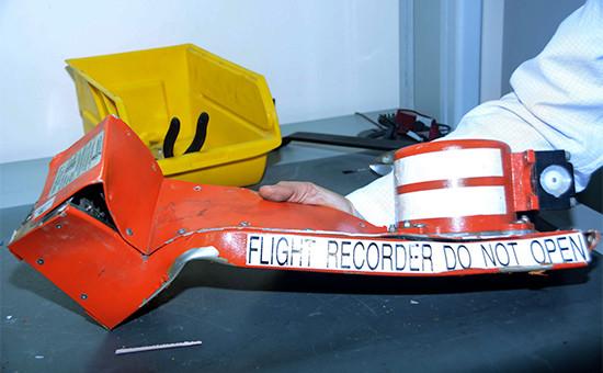 Бортовой самописец разбившегося самолета Airbus A321 авиакомпании «Когалымавиа»
