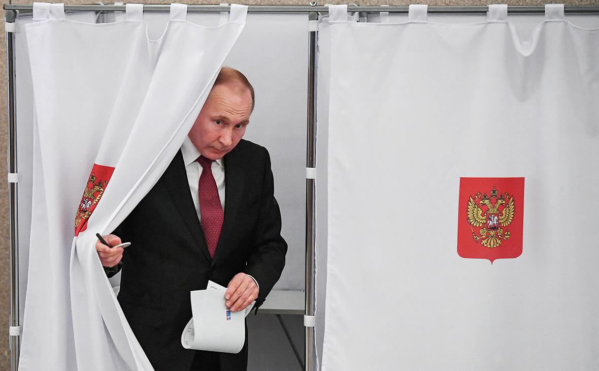 Путин допустил выдвижение на новый президентский срок
