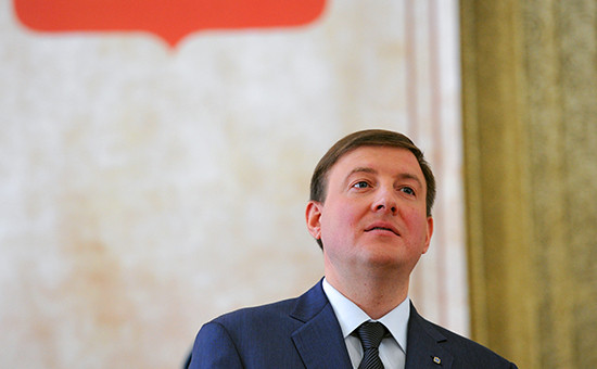 Губернатор Андрей Турчак
