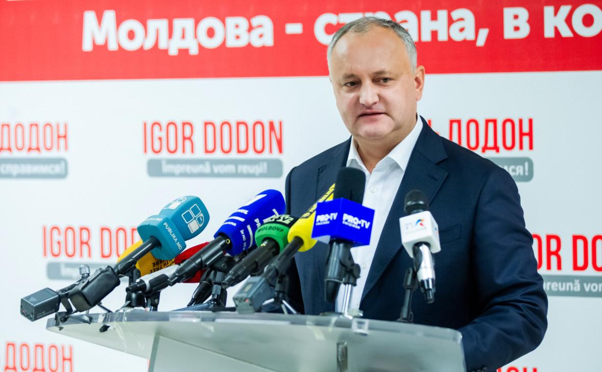 В Молдавии объявят второй тур президентских выборов
