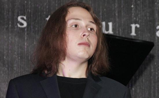 Сын российского художника Никаса Сафронова — Лука Затравкин, 2010 год