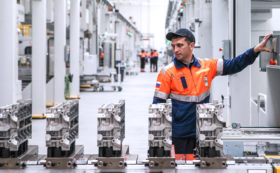 Производство двигателей на заводе Ford Sollers