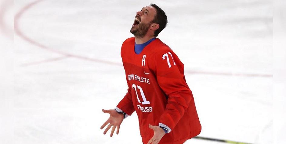 Нападающий «Вашингтон Кэпиталз» и сборной России Илья Ковальчук