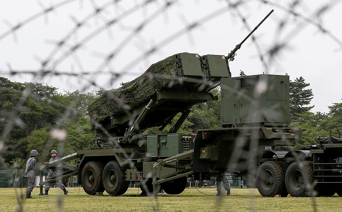 Противоракетный комплекс силсамообороны Японии