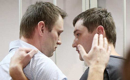 Алексей и Олег Навальные (слева направо)
