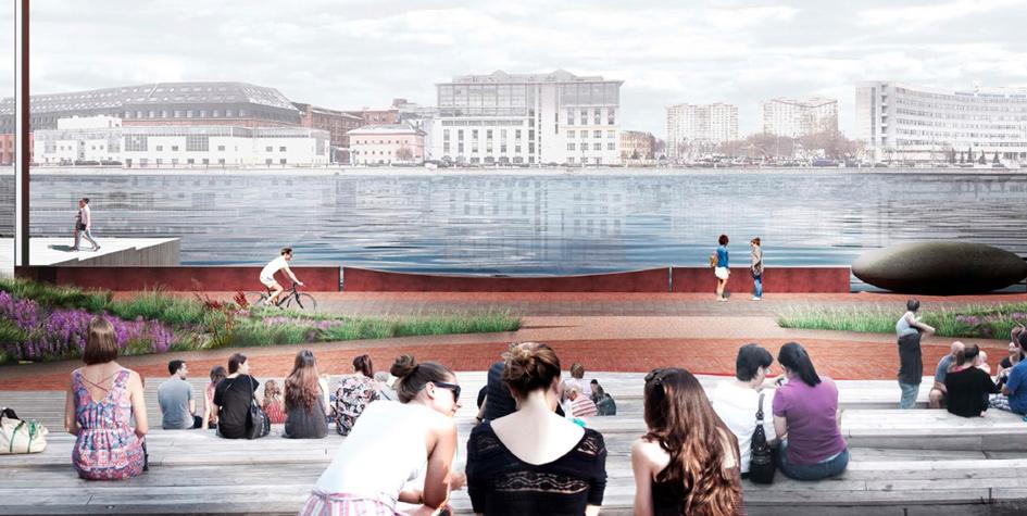 Проект благоустройства набережной Марка Шагала