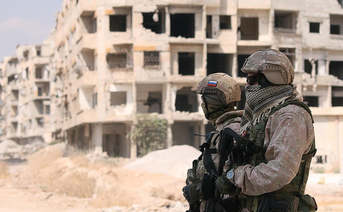 Минобороны опубликовало карту военных патрулей в Сирии