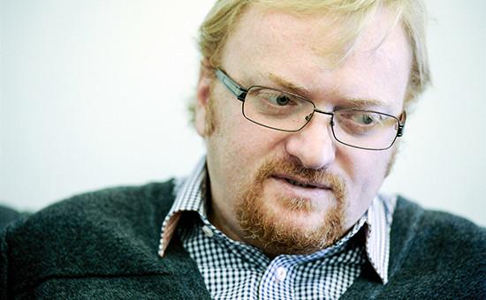 Председатель комитета позаконодательству Законодательного собрания Санкт-Петербурга Виталий Милонов