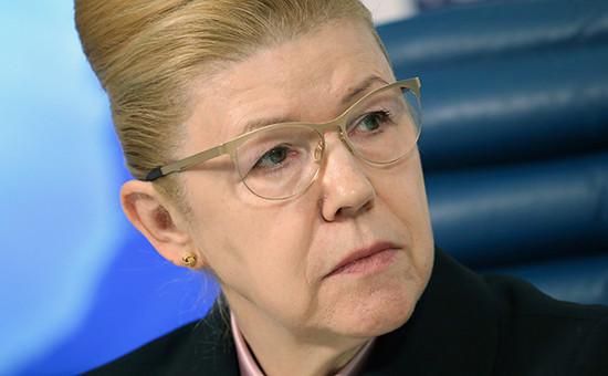 Первый зампред комитета Совета Федерации по конституционному законодательству Елена Мизулина