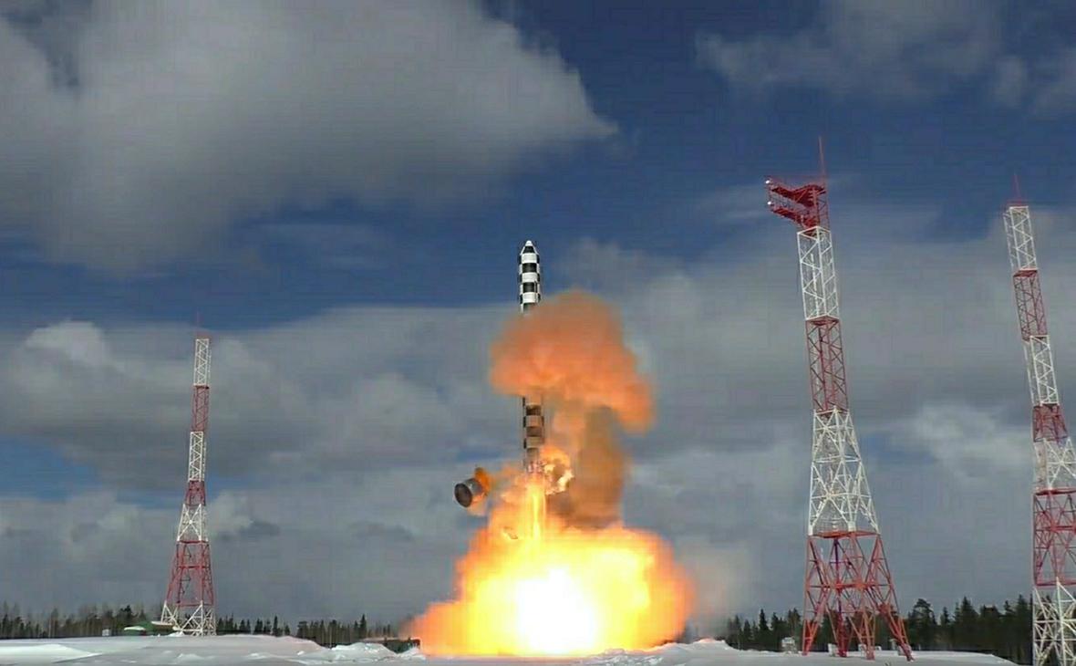 Межконтинентальная баллистическая ракета «Сармат»