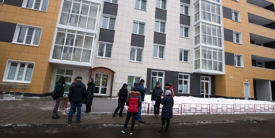 Первый дом для переселенцев по программе реновации