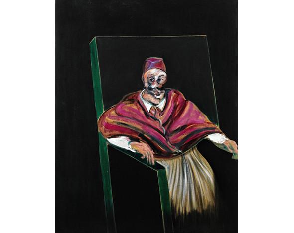 Фото: Фрэнсис Бэкон «Эскиз к портрету Папы I»