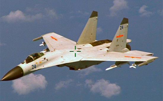 Истребитель J-11 ВВС Китая