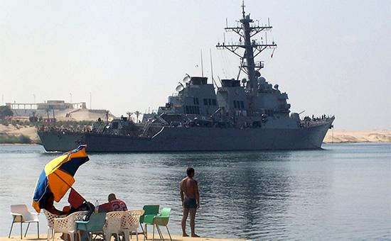 Эсминец ВМС США Porter, архив
