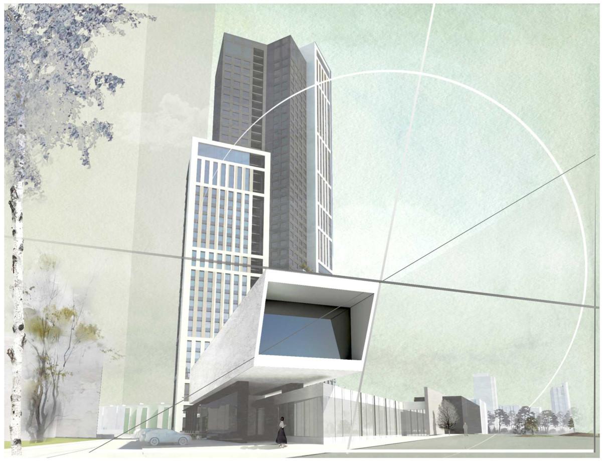 Макет нового здания