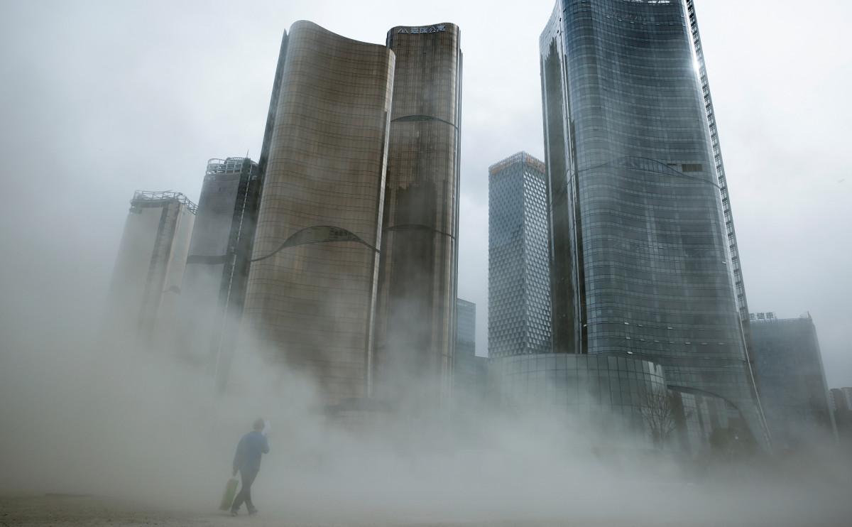 Небоскребы в Пекине