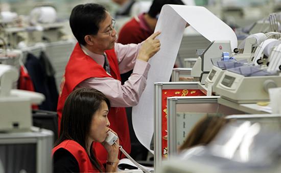 Работа гонконгской биржи