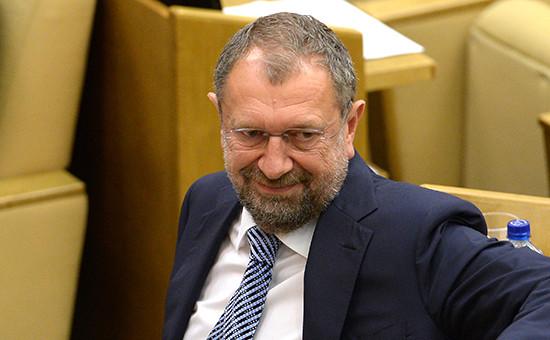 Депутат Госдумы РФ Владислав Резник