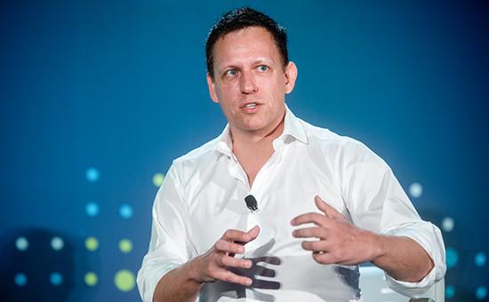 Основатель платежного сервиса PayPal Питер Тиль