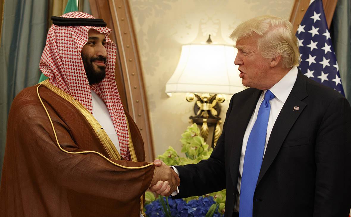 МухаммедбенСальман и Дональд Трамп
