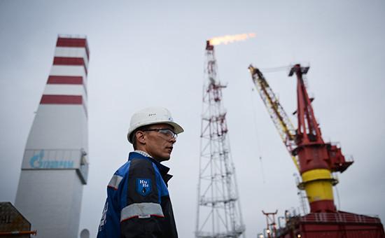 Сотрудник нефтяной платформы