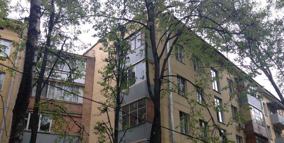 Пятиэтажные дома в московском районе Черемушки