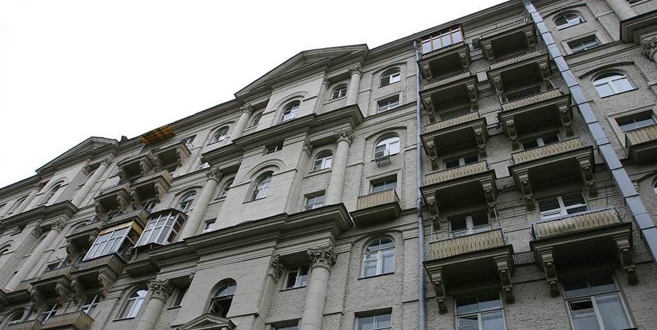 Сталинский дом наКутузовском проспекте