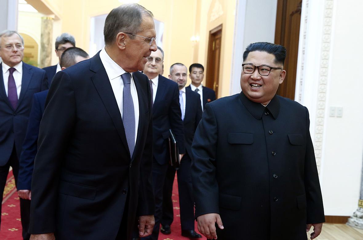 Сергей ЛавровиКим Чен Ын