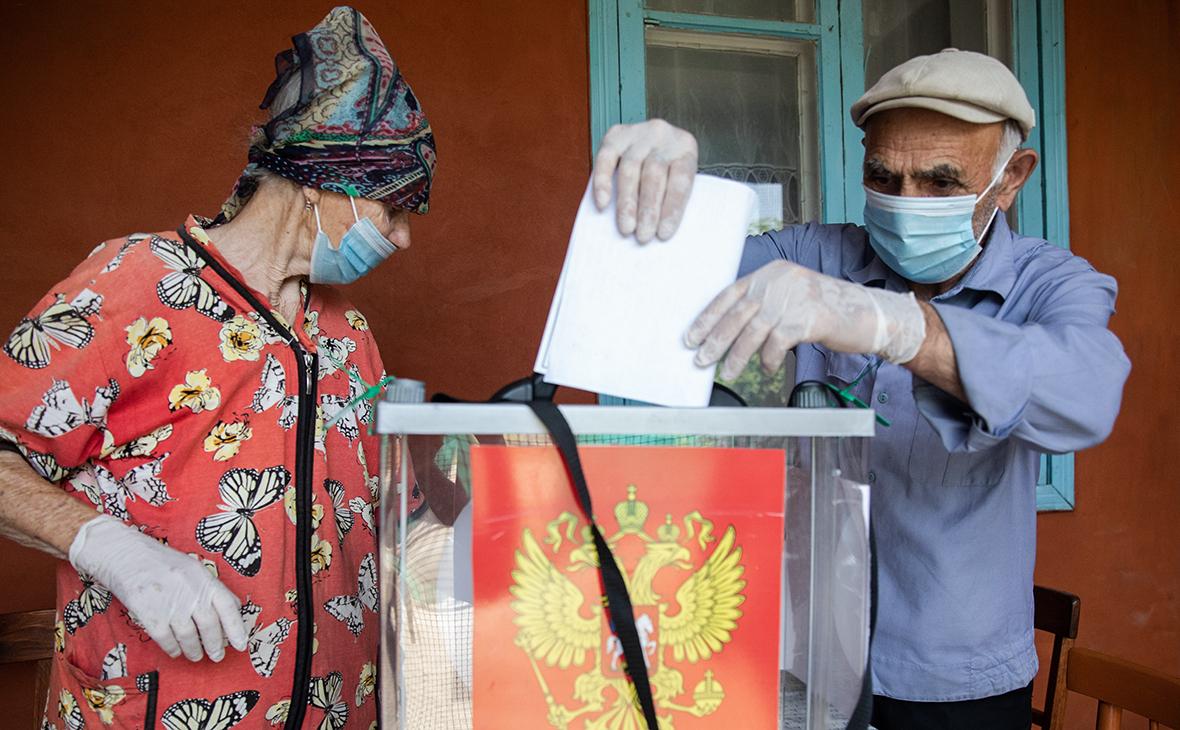 Голосование по поправкам в Конституцию РФ в Грозном