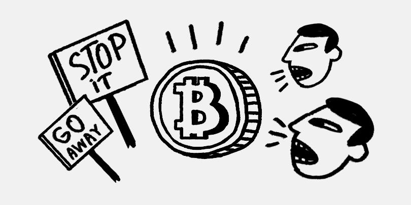 «Эволюция денежного обращения». Почему регуляторы критикуют биткоин