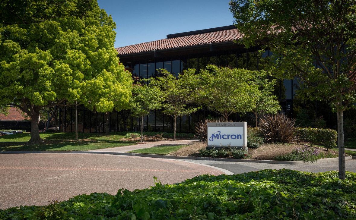 Офисное здание Micron Technologies в городе Милпитас, Калифорния