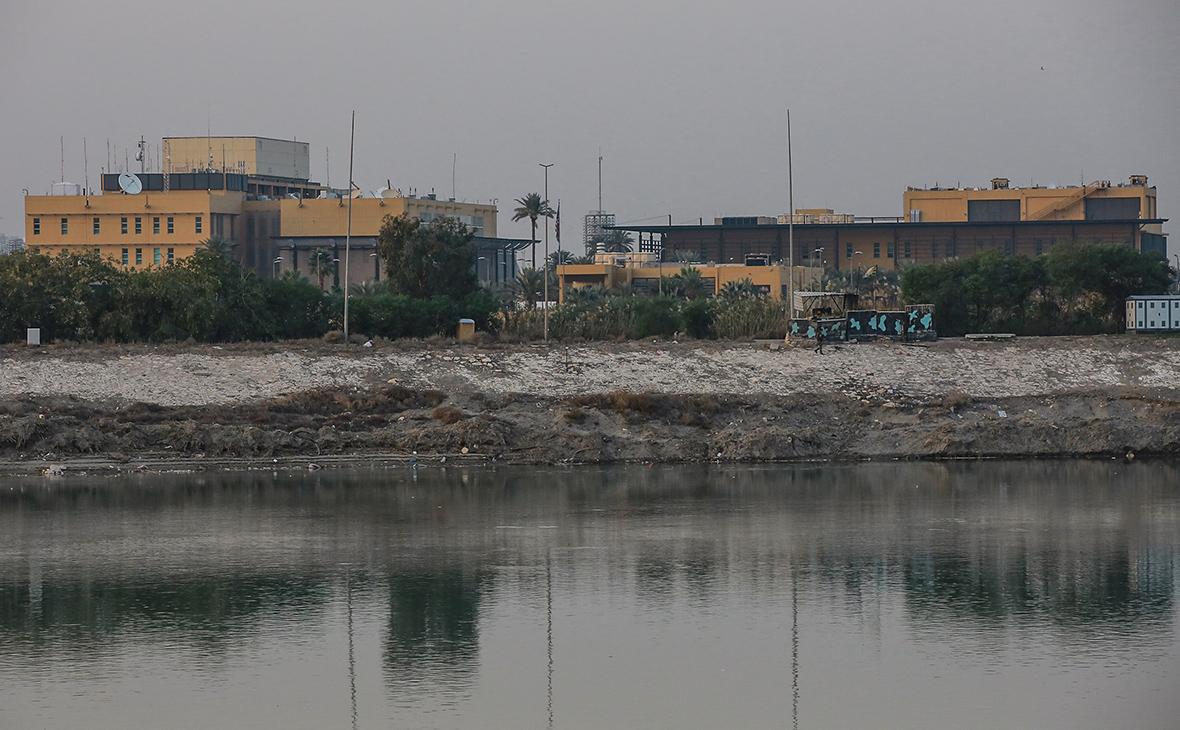 Зданиепосольства США в Багдаде