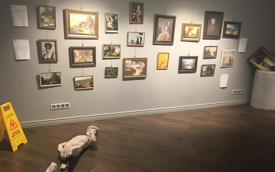 Выставка репродукций «Идеи BANKSY»