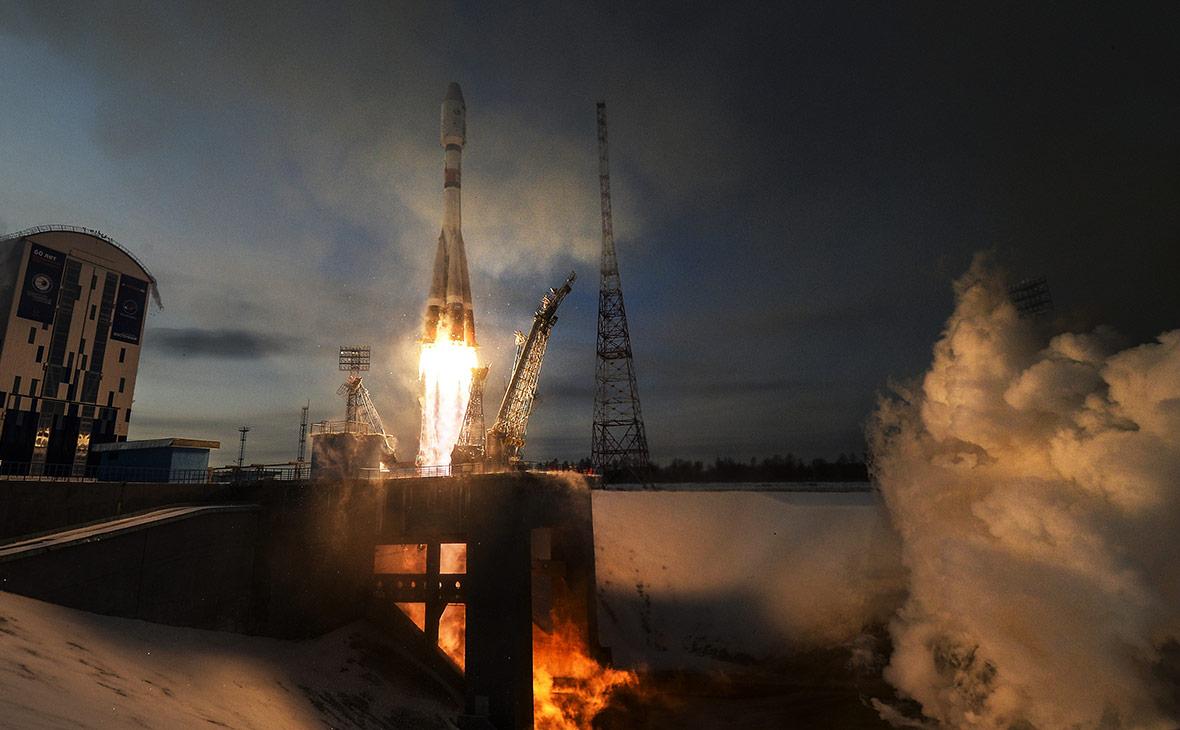 Запуск ракеты «Союз-2.1б» с космодрома Восточный. 28 ноября 2017 года