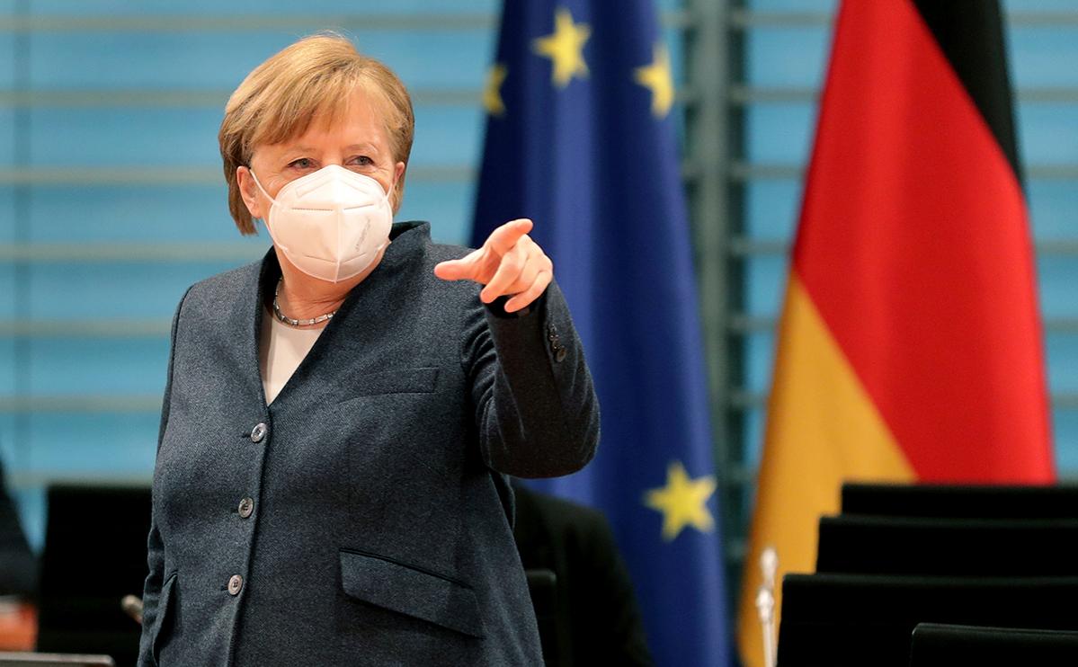 Меркель пригрозила России санкциями и заявила о поддержке Nord Stream 2