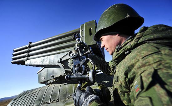 Учения ракетных иартиллерийских подразделений Восточного военного округа вПриморском крае вмарте 2015 года
