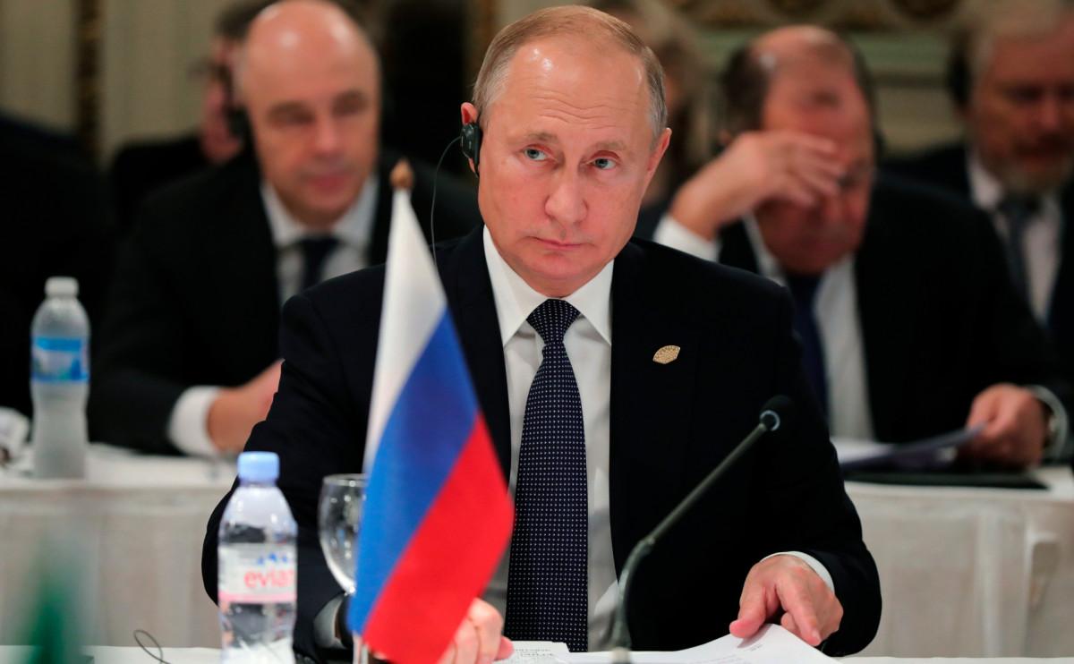 Фото: Mikhail Klimentyev / AP / Pool Sputnik Kremlin
