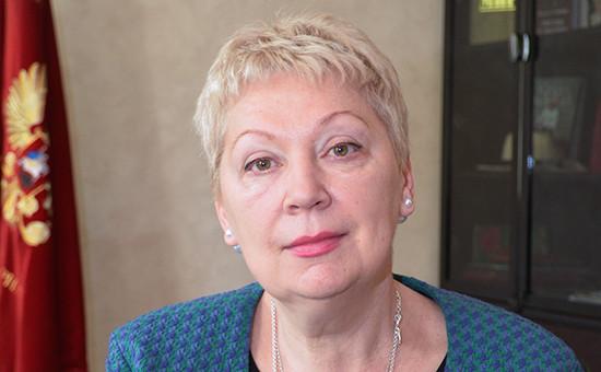 Министробразования и науки Ольга Васильева