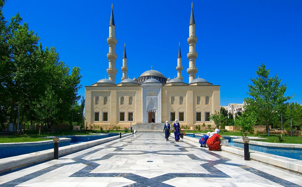 Мечеть Эртогрулгазы, Ашхабад