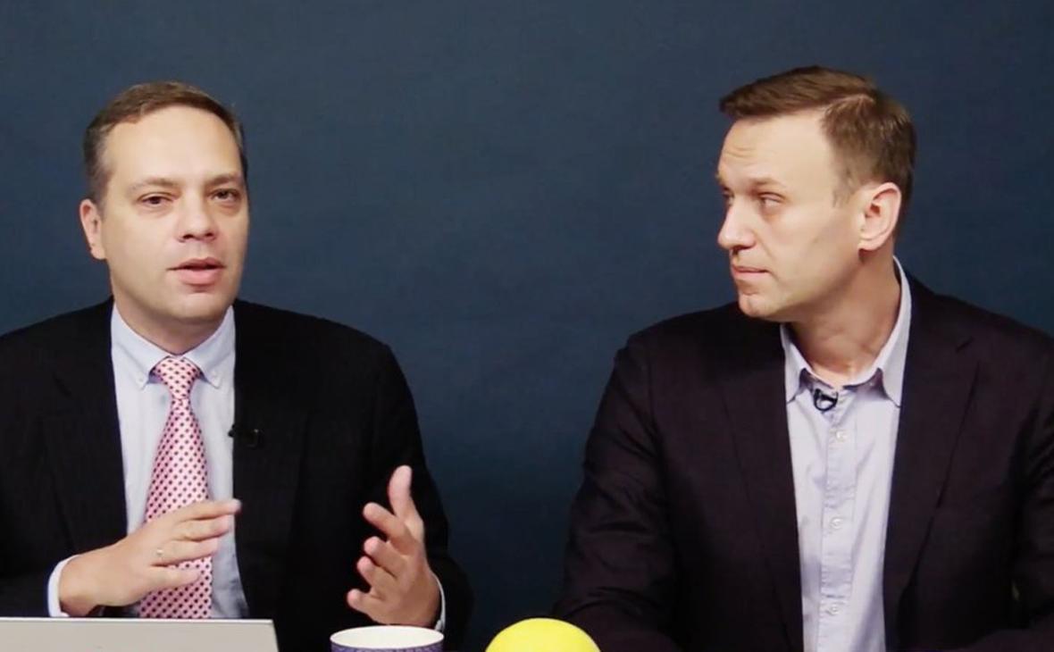 Владимир Милов и Алексей Навальный